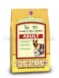 James Wellbeloved Adult Dog Lamb & Rice
